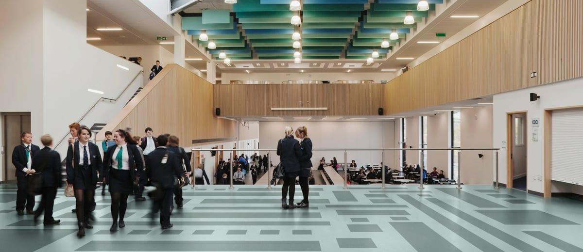 education vinyl floor