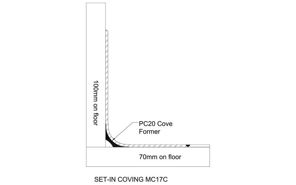 Skirting MC17C Technical Drawing