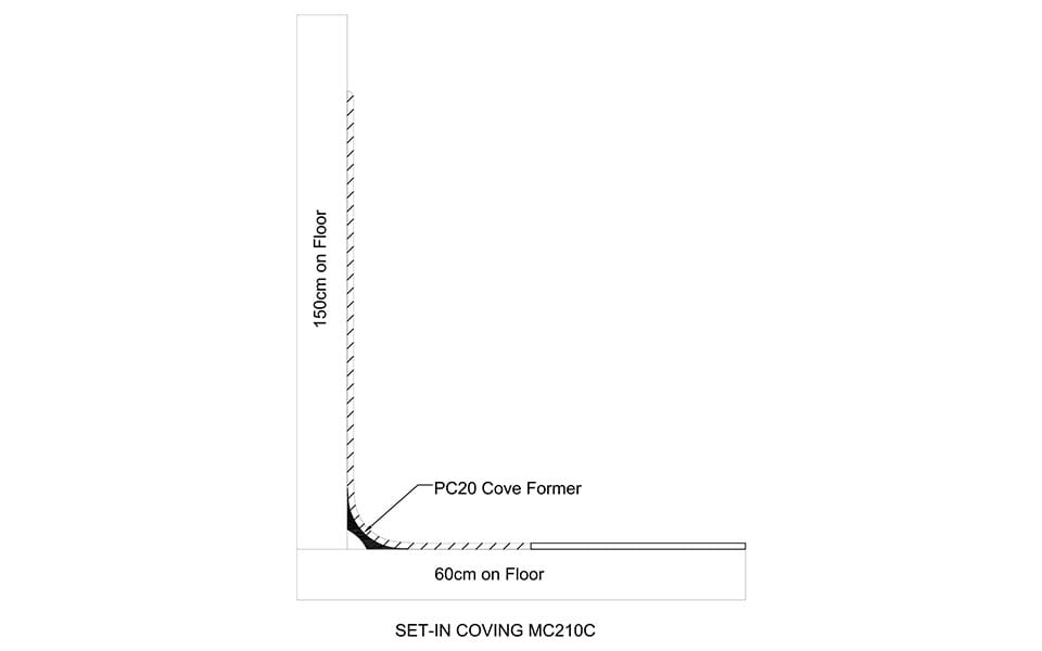 Skirting MC210C Technical Drawing