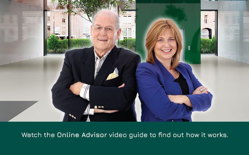 online advisor video